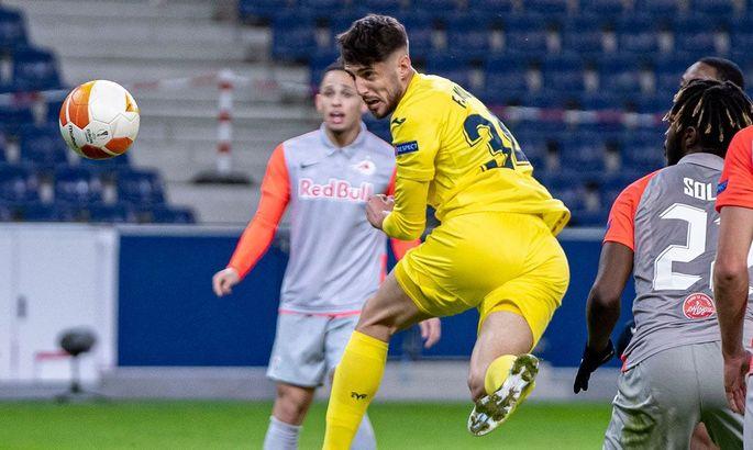 Нападающий соперника киевского Динамо в ЛЕ отличился оригинальным достижением