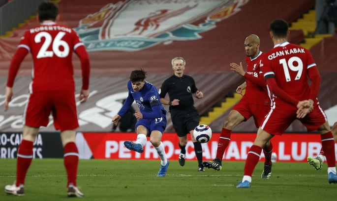Пять поражений на Энфилде подряд – это антирекорд для красных. АПЛ. Ливерпуль – Челси 0:1
