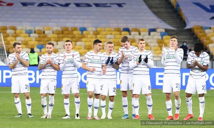 Четыре игрока основы Динамо под угрозой дисквалификации на матч с Шахтером
