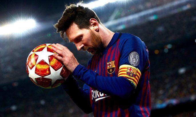 Барселона предлагает Месси 10-летний контракт