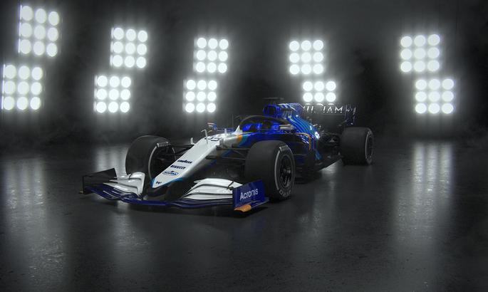 Уильямс представил болид на сезон 2021