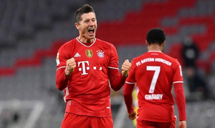 Левандовскі забив найбільше голів у ворота Боруссії Д в історії Бундесліги