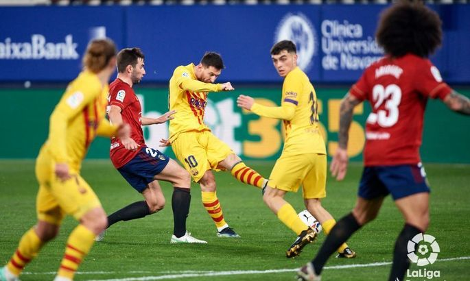Велика гра триває. Осасуна - Барселона 0:2. Огляд матчу та відео голів