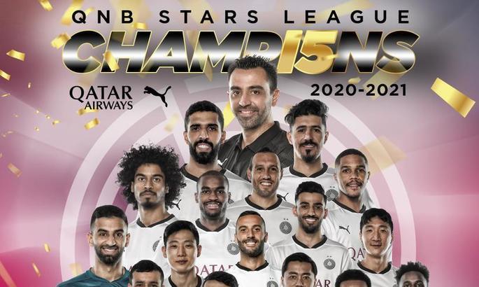 Хави привел Аль-Садд к чемпионству Катара и оформил 6-й титул в карьере тренера