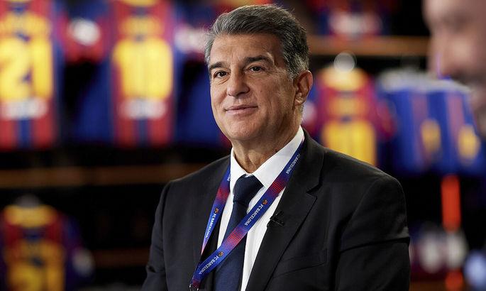 """""""Я сделаю все, чтобы Месси остался"""". Официально: Жоан Лапорта – президент каталонской Барселоны"""