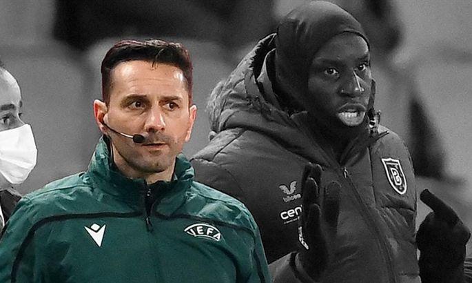 УЕФА за расистский скандал в матче ПСЖ - Истанбул ББ дисквалифицировал судью