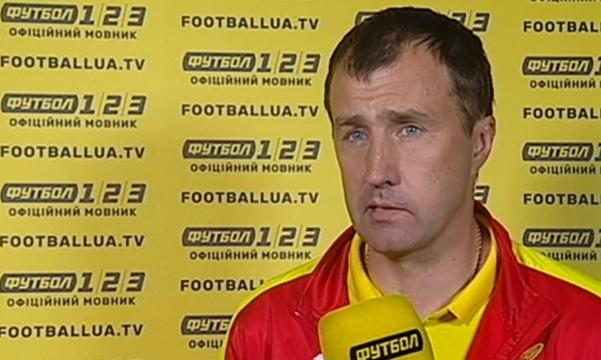 Лавриненко - про матч з Колосом: Гра складалася для обох команд досить складно