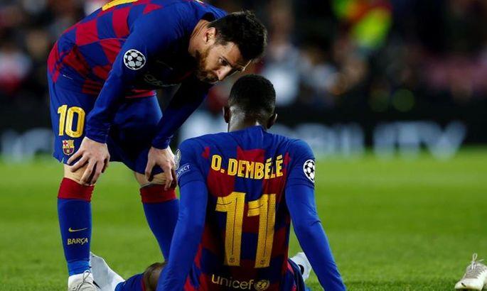 Проблемный ребенок: странный союз Барселоны и Дембеле