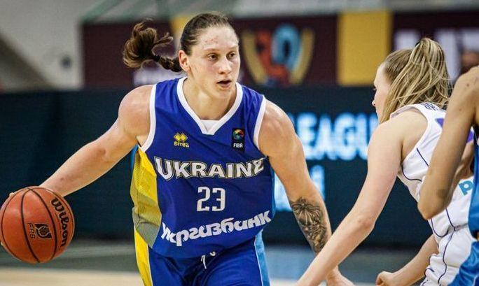 Лучшей баскетболистке Украины вручили государственный орден