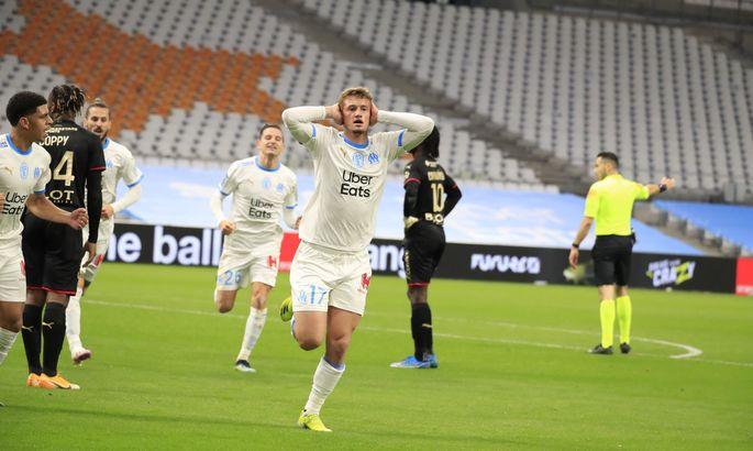 Лига 1. Марсель - Ренн 1:0. Сампаоли дебютирует с победы