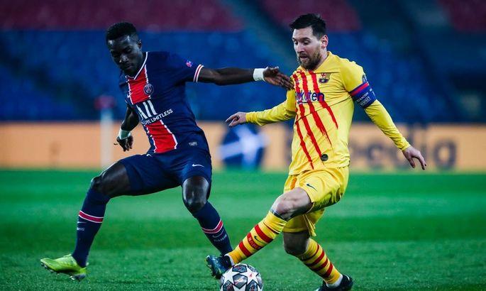Лига чемпионов. ПСЖ - Барселона 1:1. Месси дал надежду и сам же ее забрал