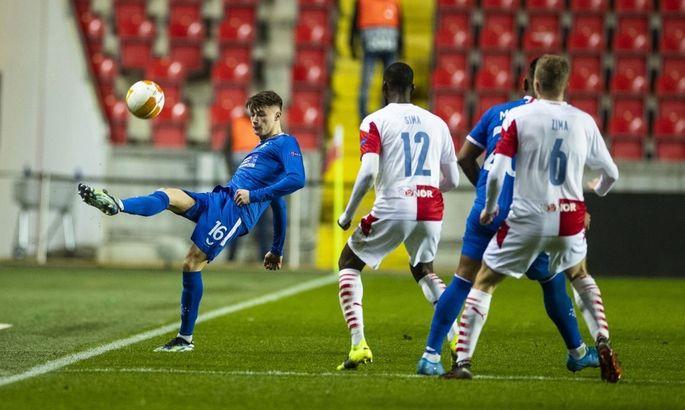 Лига Европы. Славия - Рейнджерс 1:1. Шотландцы вновь набирают очки в таблицу коэффициентов