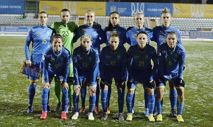 Женская сборная Украины назвала состав на матч с Северной Ирландией