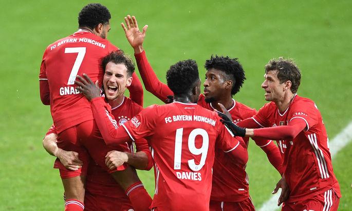 Бавариястала чемпионом Германии в 9-й раз кряду