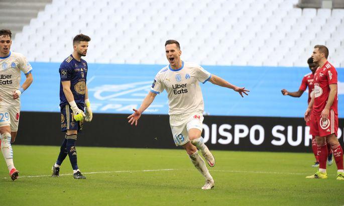Лига 1. Марсель снова победил с Сампаоли, а Хазри зажег впервые в сезоне