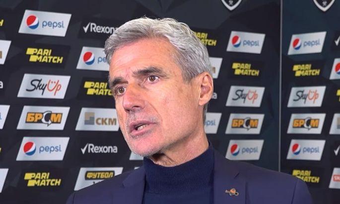 Каштру: Шахтер всегда отдавал себе отчет, что матчи с Динамо - очень важные