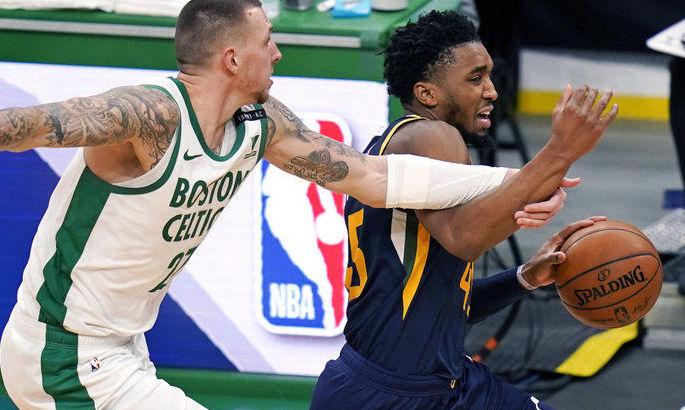 НБА: Юта обыграла Бостон, победы Лейкерс и Филадельфии