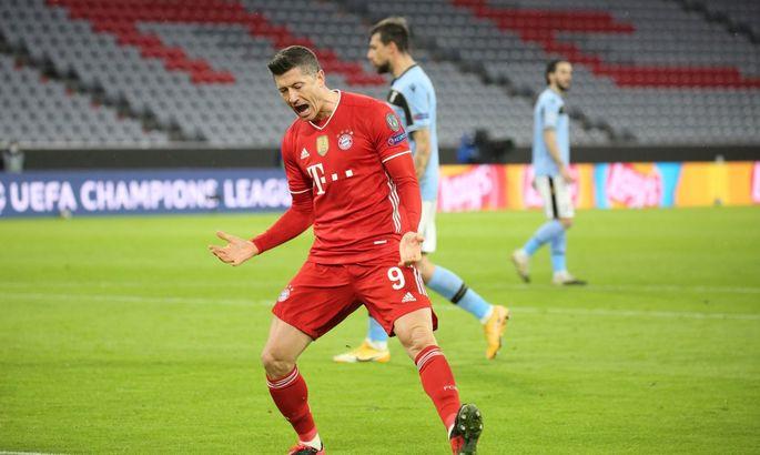 Левандовский достиг отметки в 300 голов за Баварию