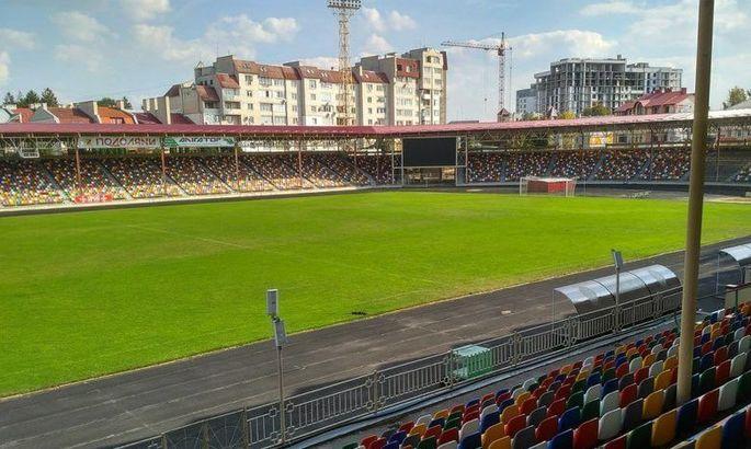 Комиссия УАФ не одобрила газон на стадионе в Тернополе