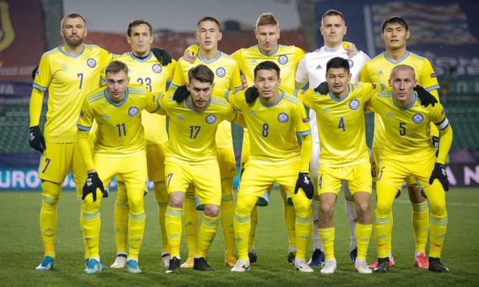 Казахстан назвал состав на Францию и Украину