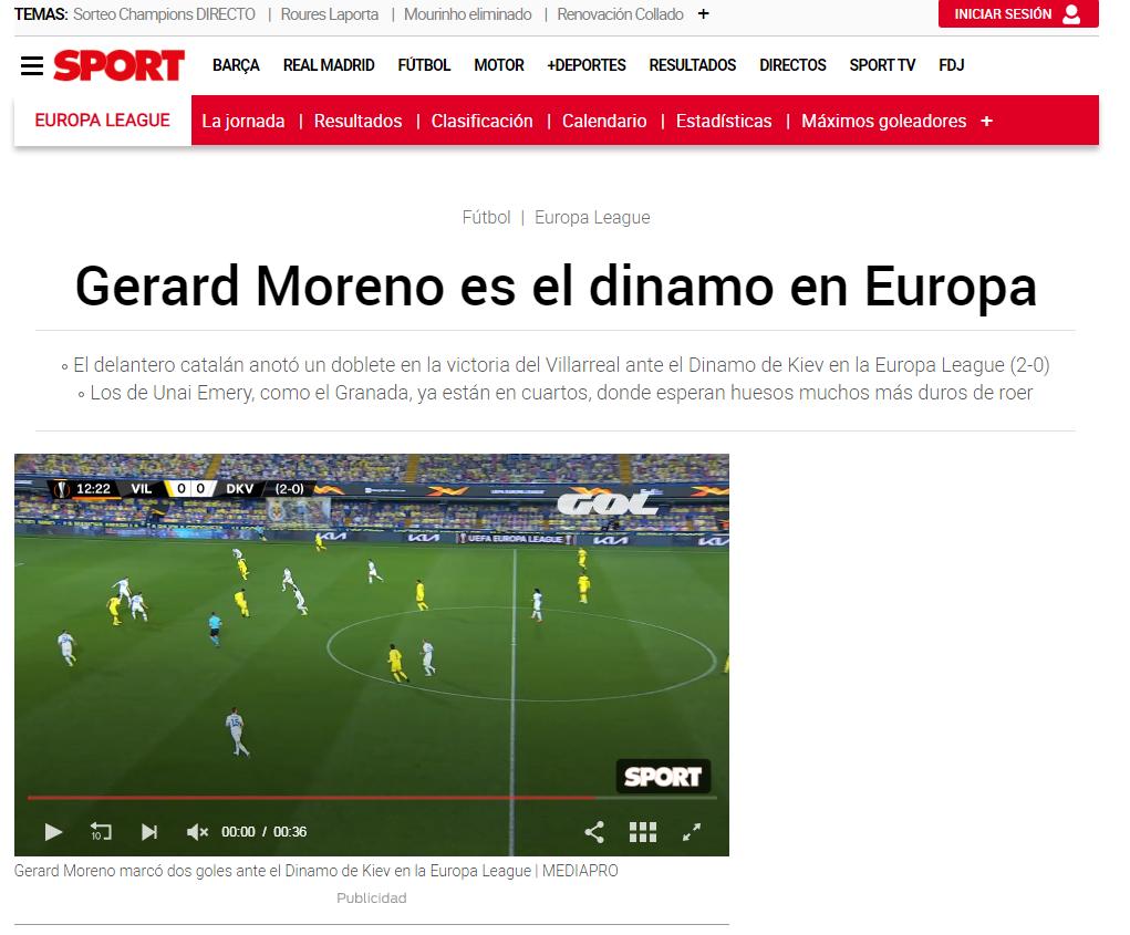 Даже не пощекотали, таланты в Украине ослабевают. Обзор испанских СМИ после матча Вильярреал - Динамо - изображение 4
