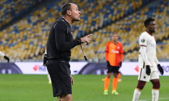 Судейский эксперт убежден, что арбитр не назначил пенальти в пользу Шахтера в матче с Ромой