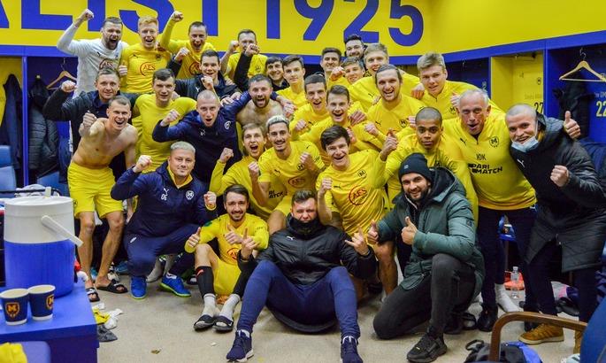 Первая лига. Металлист 1925 минимально одолел Николаев и вернулся в тройку (1:0)