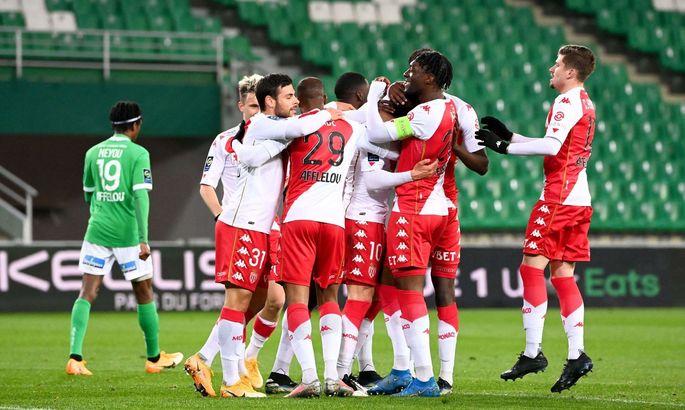 Лига 1. Сент-Этьен - Монако 0:4. Урок футбола от Ковача
