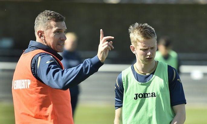 Зинченко стал самым молодым капитаном сборной Украины в истории