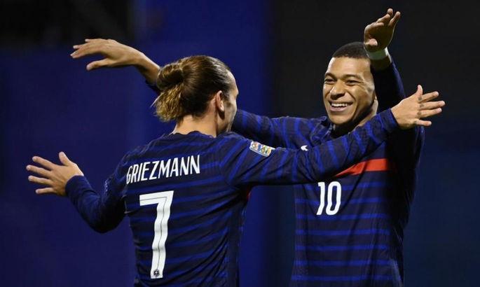 Гризманн догнал Трезеге по количеству голов за французов, Мбаппе установил очередной рекорд