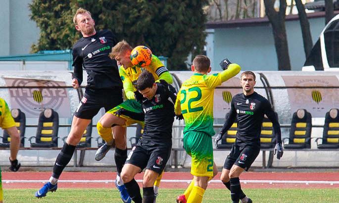 Первая лига. Не самый яркий матч в Ивано-Франковске, но Верес с тремя очками (0:1)