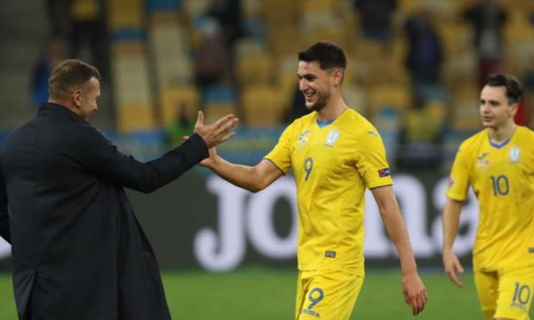 Яремчук: За последнее время сборная Украины получила большой опыт