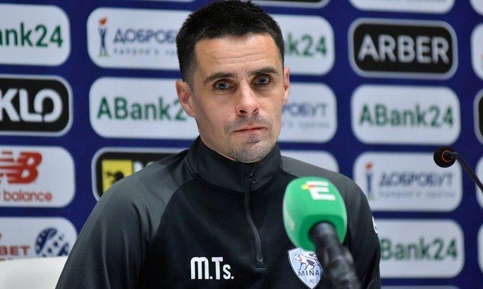 Тренер Миная: Мы советуемся с Севидовым, но последние решения за мной