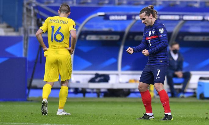 Україна - Франція. Де і коли дивитися матч відбору до ЧС-2022