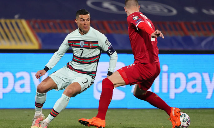 Лють Роналду. Сербія - Португалія 2:2. Відео голів та огляд матчу