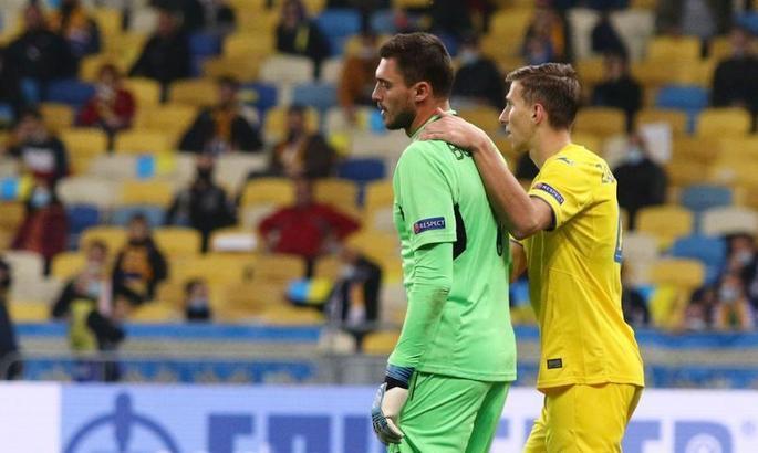 Whoscored: Бущан – лучший игрок сборной Украины в матче с Австрией, Яремчук - худший