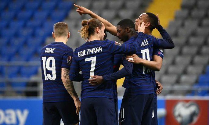 Франция повторила победную выездную серию 30-летней давности