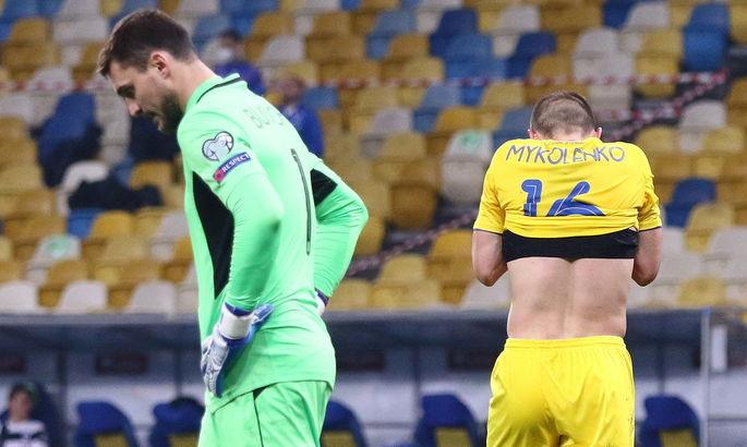 Досадная ничья Украины, претендент на Лунина, рекорд Второй лиги. Главные новости за 28 марта