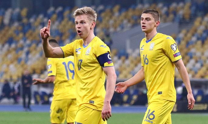 Зинченко: Мы, игроки сборной Украины, никогда не будем равнодушны к выступлениям за нашу страну