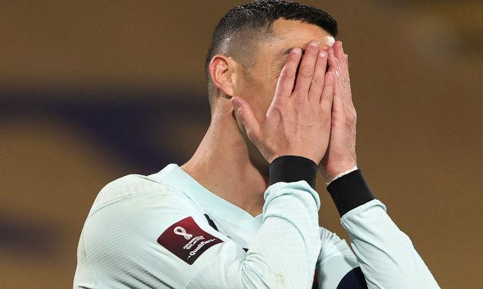ФІФА може покарати Роналду за його реакцію після не зарахованого голу у грі з Сербією