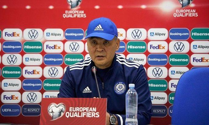 Тренер Казахстану: Нас збентежив гол на 2-й хвилині, довго приходили до тями