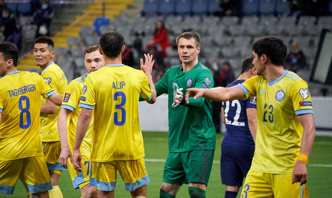 Голкіпер Казахстану: Україна - добротна команда, але себе ми в образу теж не дамо