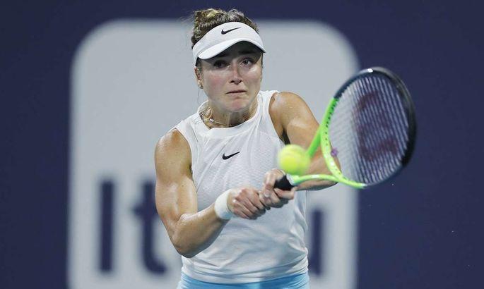 Мощный теннис Свитолиной в четвертьфинале Miami Open. ВИДЕО