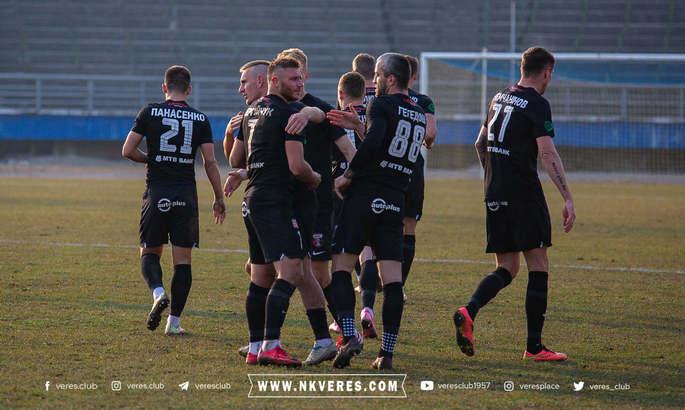 Верес і Чорноморець збільшують відрив. Таблиця Першої ліги 2020/21