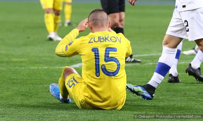 Ребров: Зубков играл за сборную с травмой