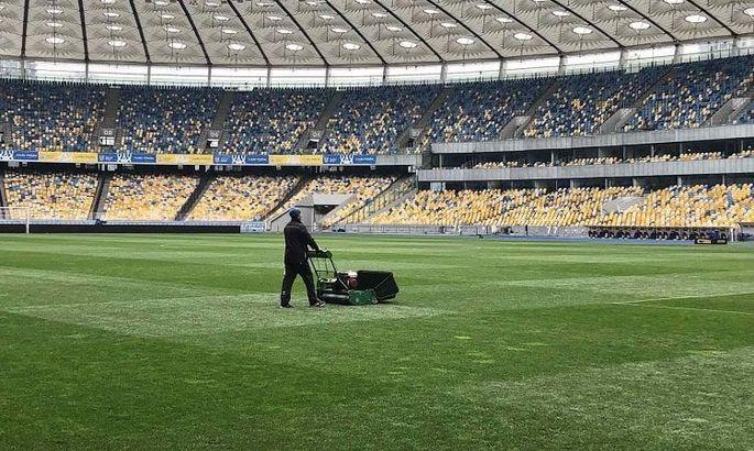 Матч Україна - Північна Ірландія пройде не в Києві. На Олімпійському планують заміну газону