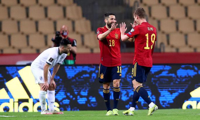 Независимость не признают, но в футбол обыгрывают. Испания победила Косово - изображение 1