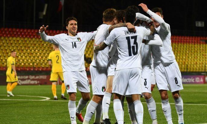 Відбір на ЧС-2022. Італія знову повільна і не реалізує, але знову перемагає