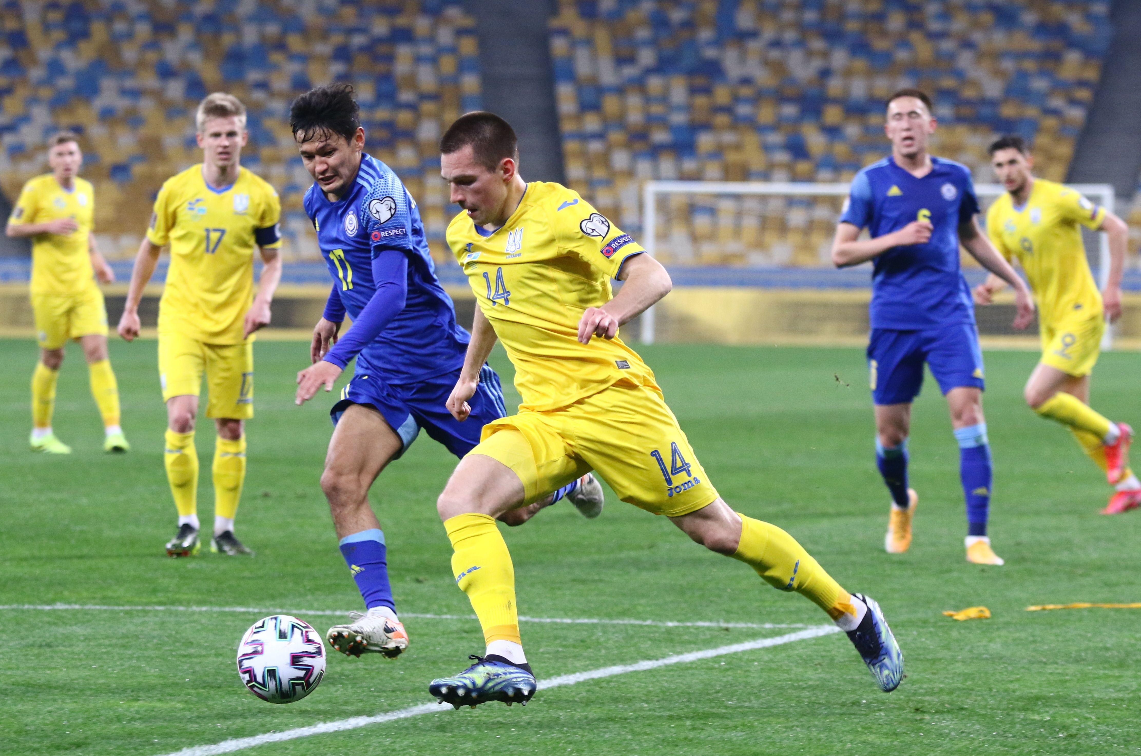 Отбор к ЧМ-2022. Украина - Казахстан 1:1. Насмешили, или Наказание за расхлябанность - изображение 1