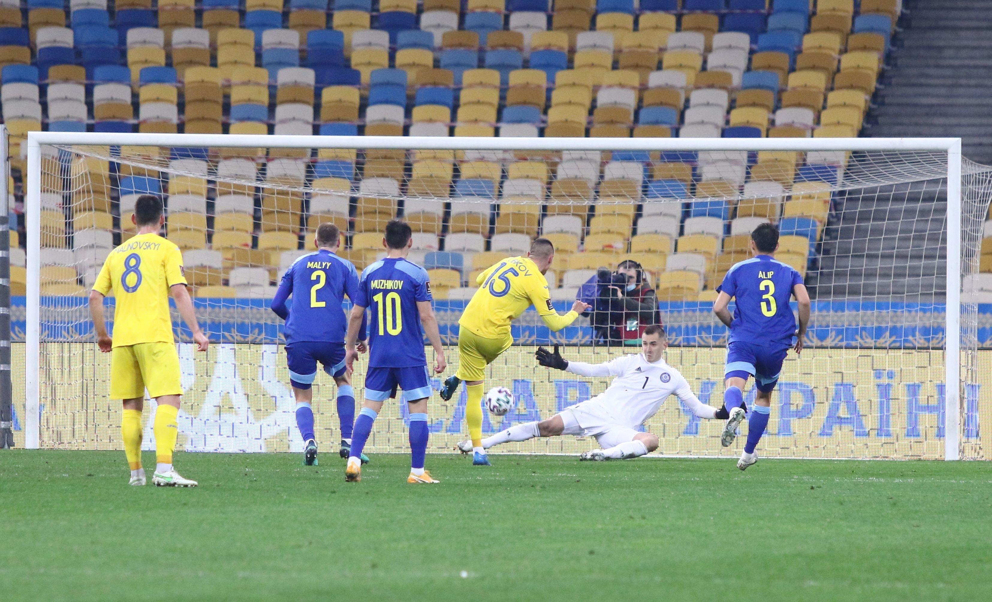 Отбор к ЧМ-2022. Украина - Казахстан 1:1. Насмешили, или Наказание за расхлябанность - изображение 4